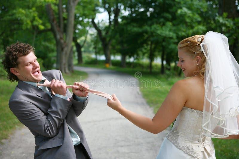Newlyweds immagini stock