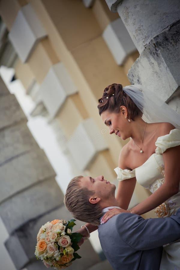 Newlyweds immagine stock libera da diritti