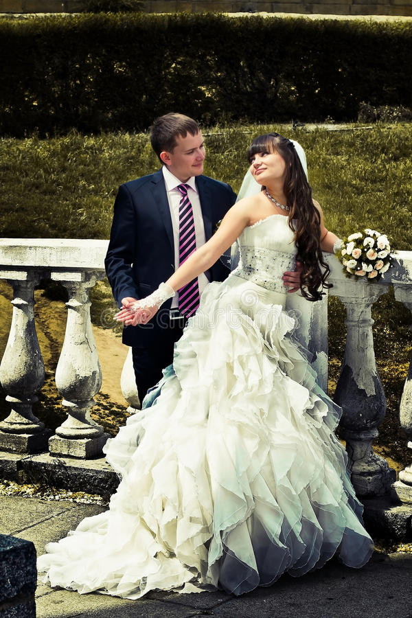 Newlyweds fotografia stock libera da diritti