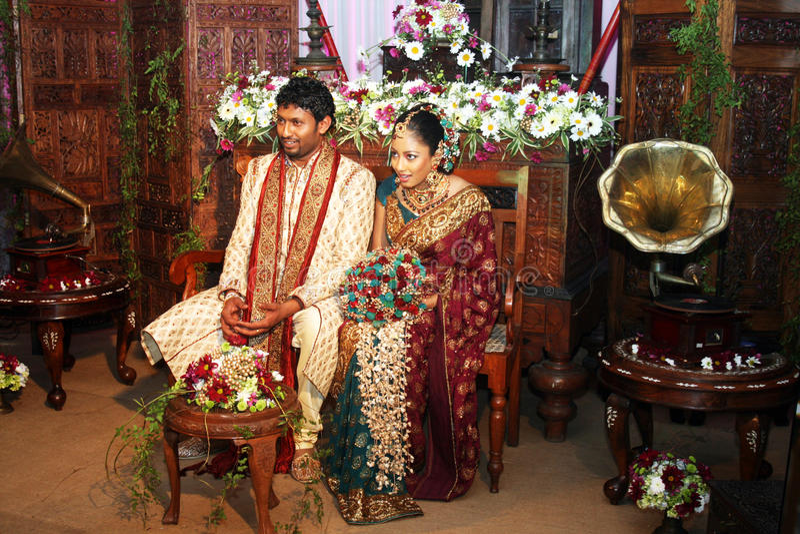 Newlyweds imagens de stock royalty free