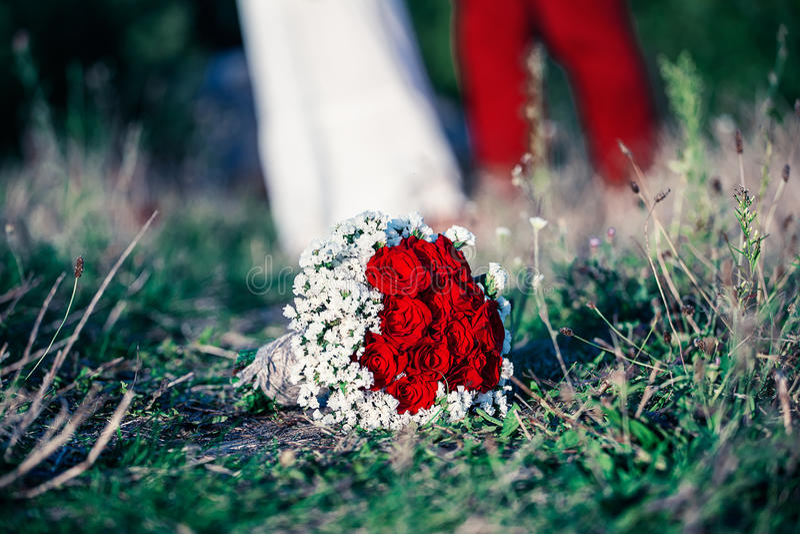 newlyweds fotos de archivo