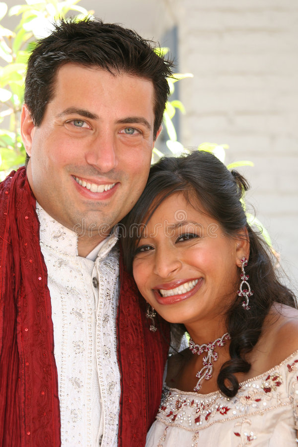 Download Newlyweds stock image. Image of marry, couple, wife, ethnicity - 6240989