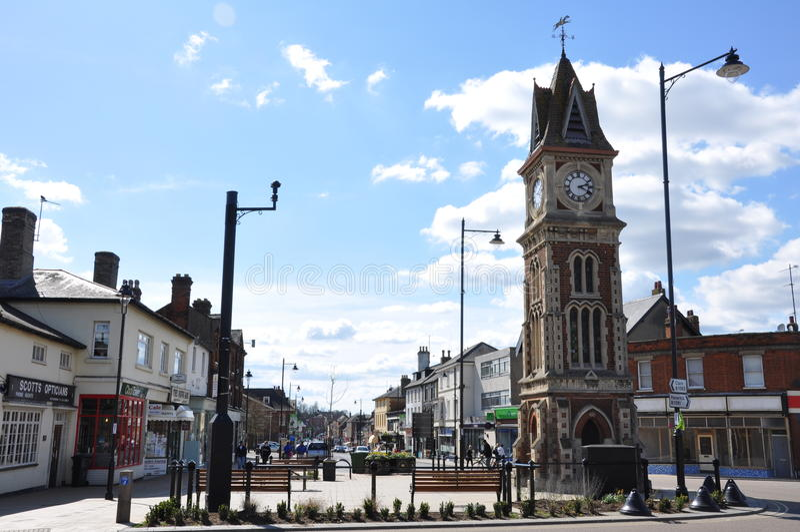 Newmarket Clocktower fotografía de archivo
