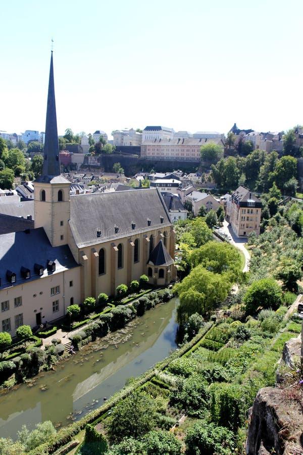 Newmunster Abtei in Luxemburg lizenzfreie stockbilder