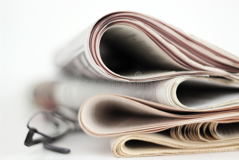 Newpapers foto de stock