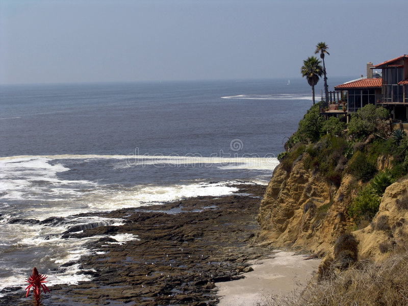Newport beach. Coast royalty free stock images