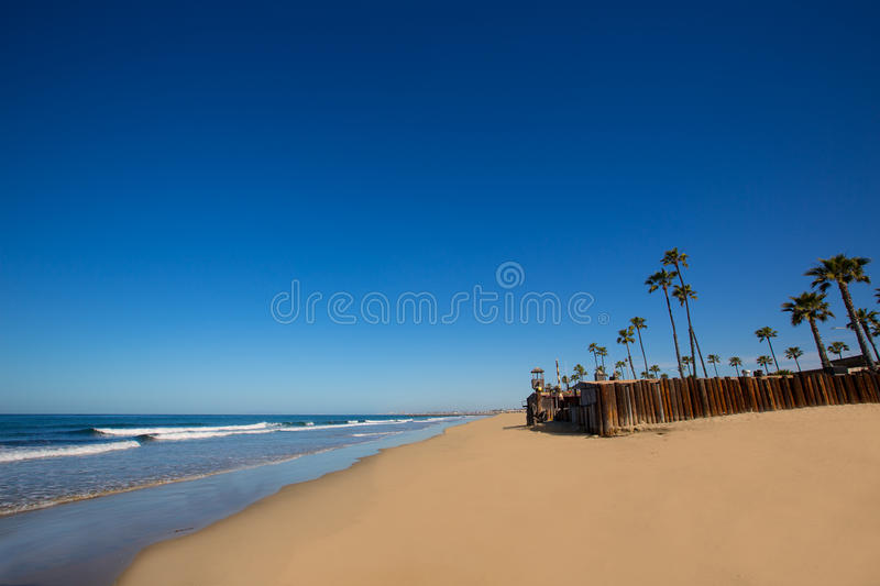Download Newport Beach In California With Palm Trees Stock Image - Image: 33855259