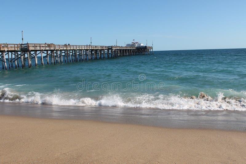 Newport Beach Pier royalty free stock photos