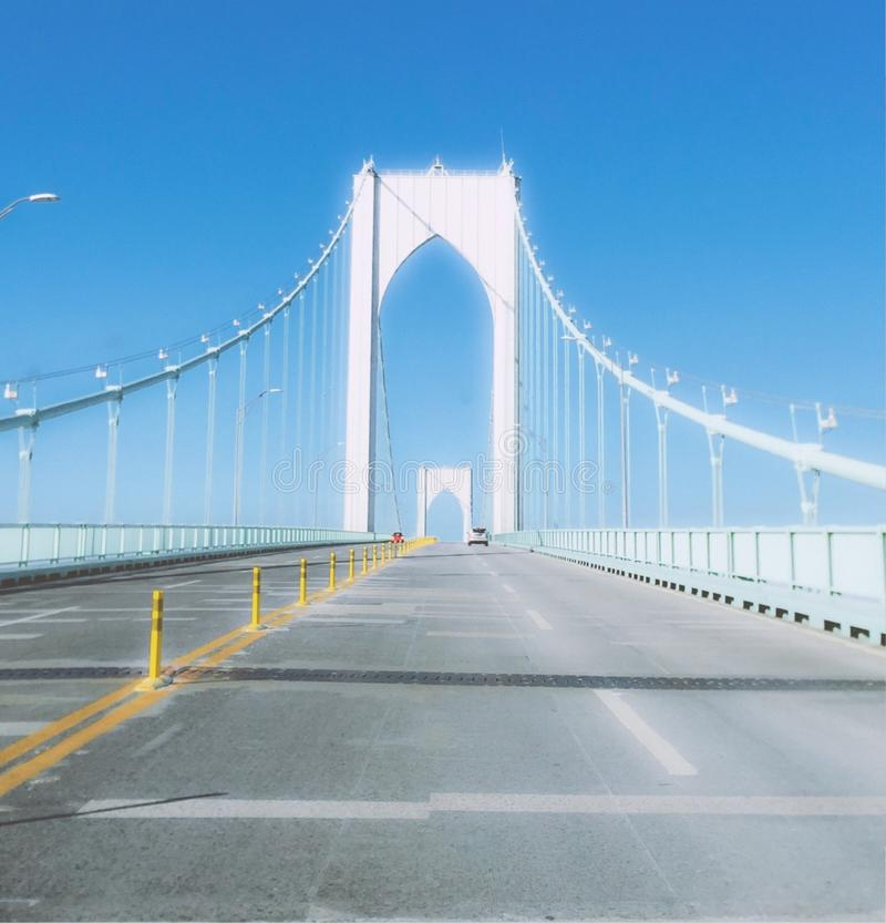 Newport-Brücke stockfoto