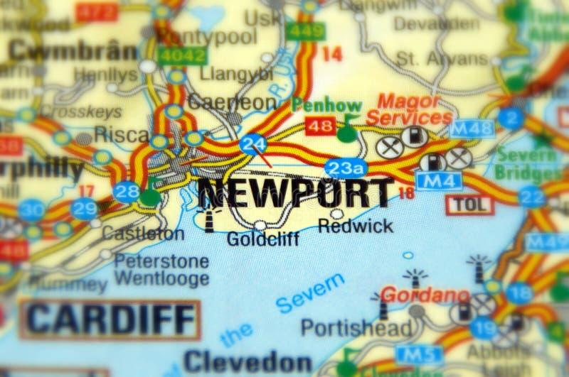 Newport, Gales, Reino Unido imagem de stock