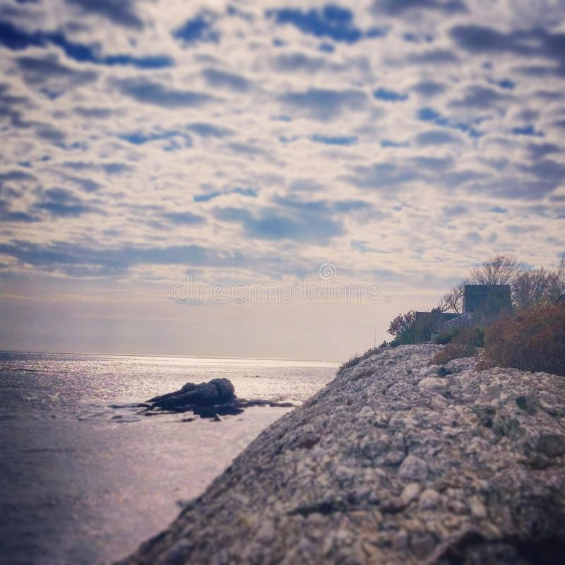 Newport-Küste lizenzfreies stockfoto