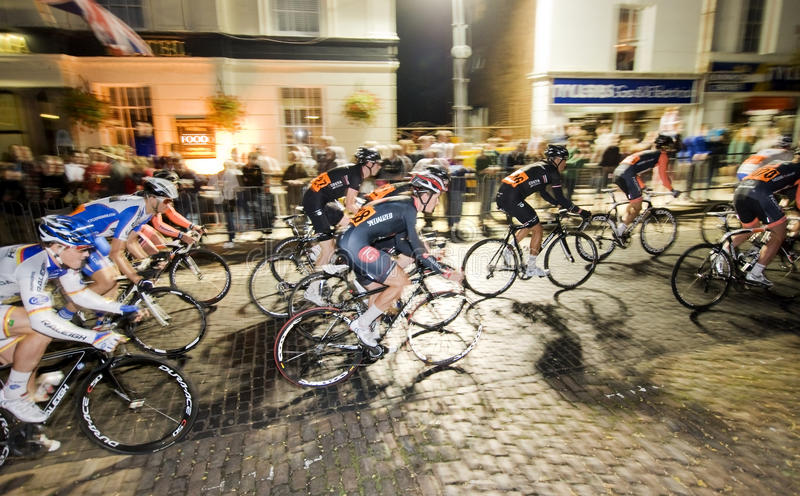 Newport-Notturno 2012 stockbild