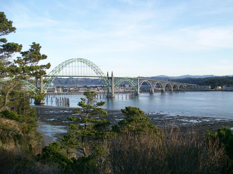 Download Newport Oregon Bridge Yaquina Bay Royalty Free Stock Images - Image: 21063599