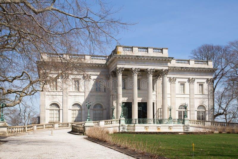Newport Rhode Island Mansion imagem de stock royalty free