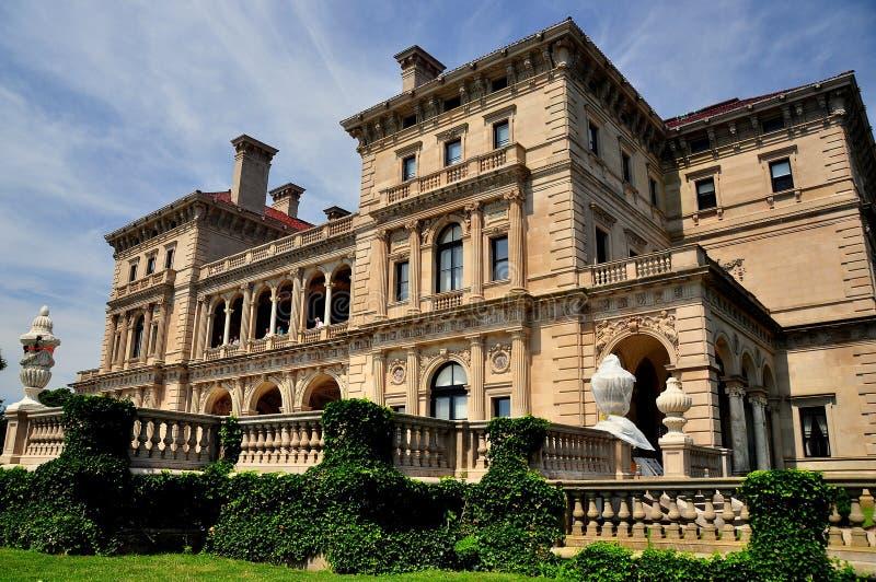 Newport, RI: La mansión de los trituradores foto de archivo