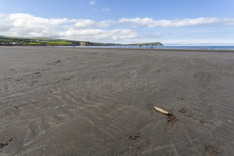 Newport Sands, Pembrokeshire royalty free stock photos