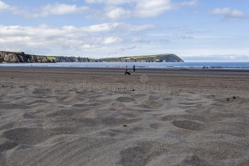 Newport Sands, Pembrokeshire stock image