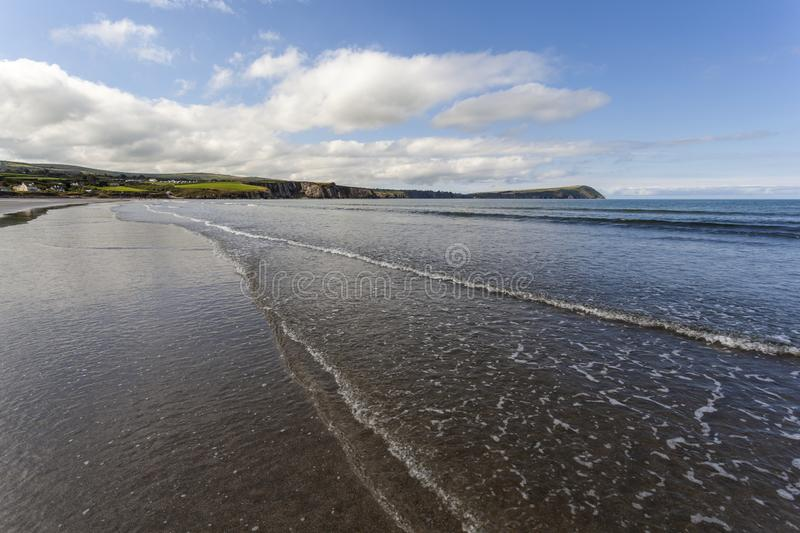 Newport Sands, Pembrokeshire royalty free stock photography