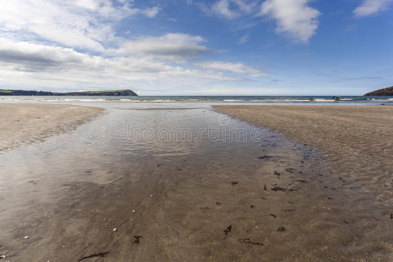 Newport Sands, Pembrokeshire royalty free stock photo