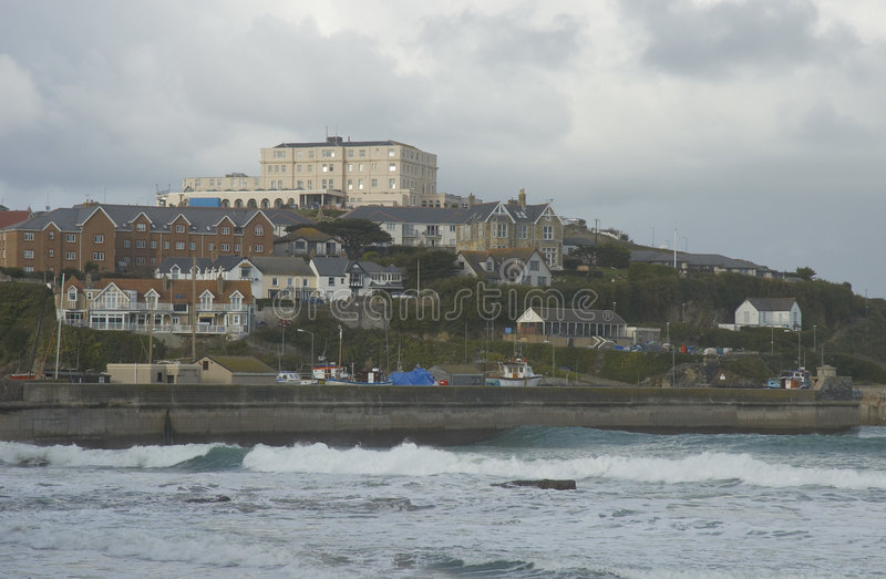 Newquay stock photography