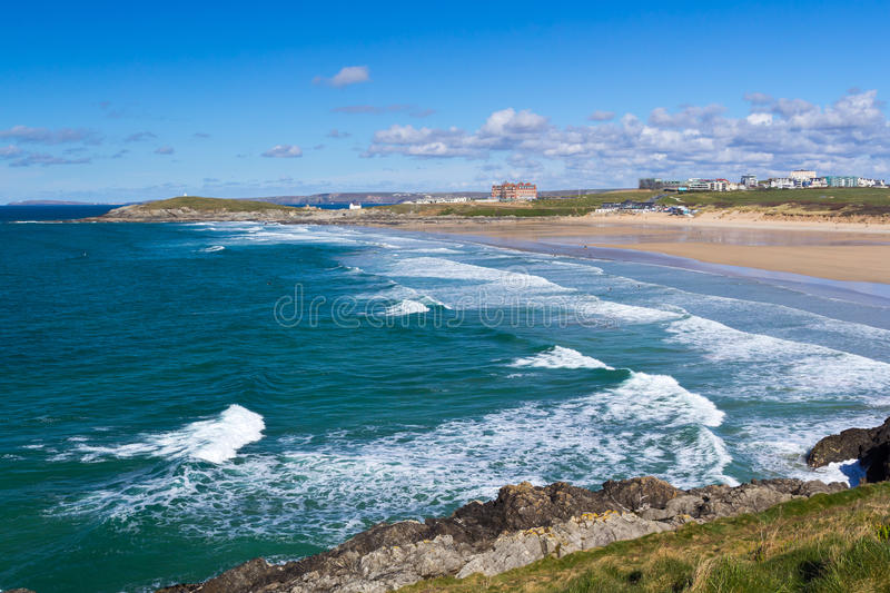 Newquay Cornwall England Royalty Free Stock Images