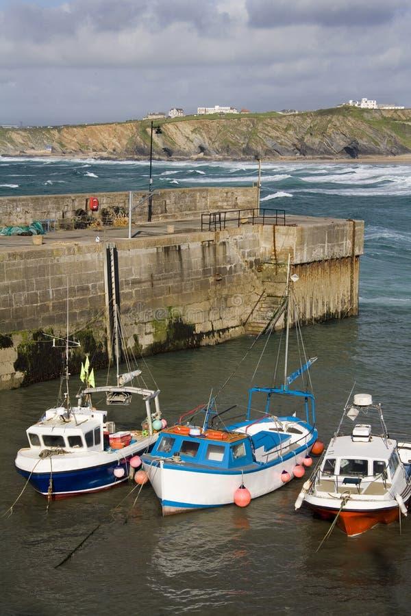 Newquay Harbor - Cornwall - United Kingdom