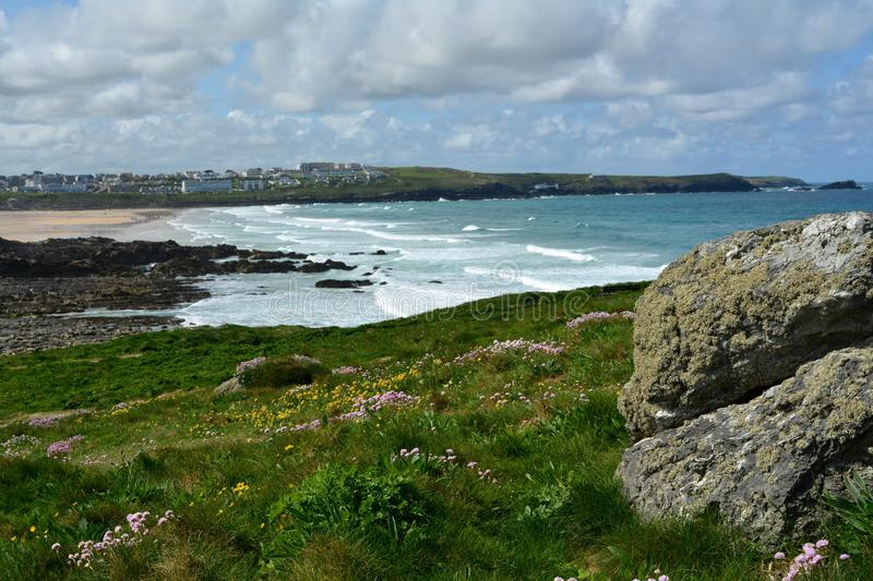Newquay les Cornouailles photos stock