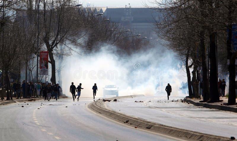 Newroz em Istambul, Turquia fotografia de stock
