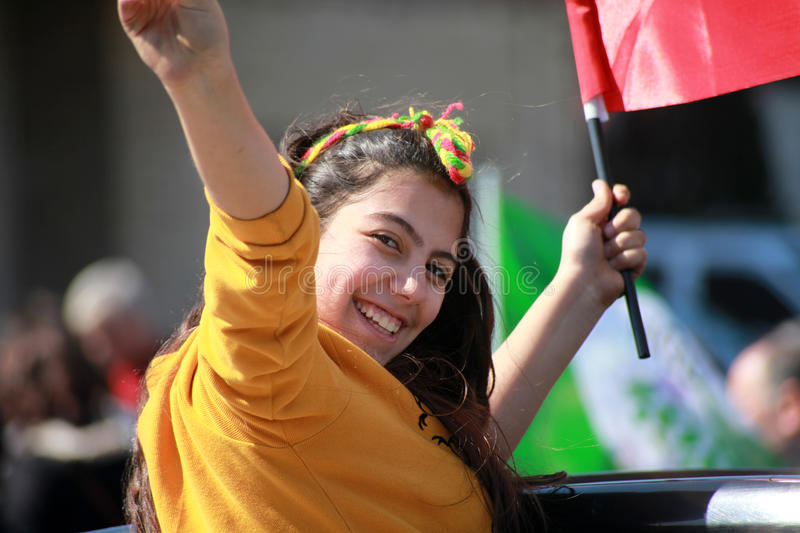 Newroz in Istanbul,Turkey royalty free stock image