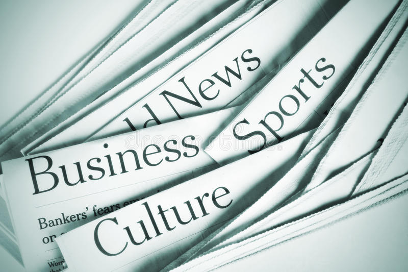 Download News stock photo. Image of morning, business, headline - 19584542