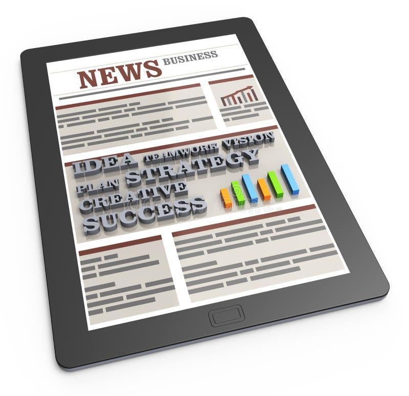 Download News stock illustration. Illustration of column, computer - 21278517