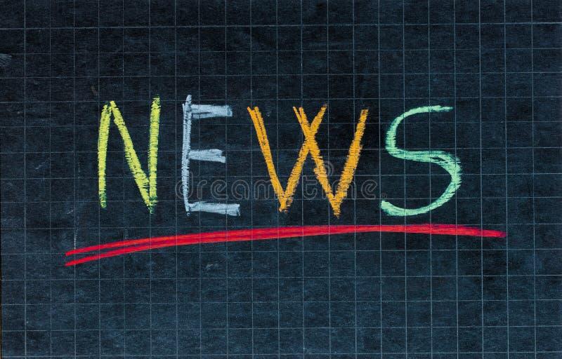 Download News stock image. Image of education, work, blackboard - 21617871