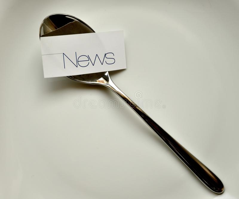 Download News Addiction Concept Royalty Free Stock Photography - Image: 23094237