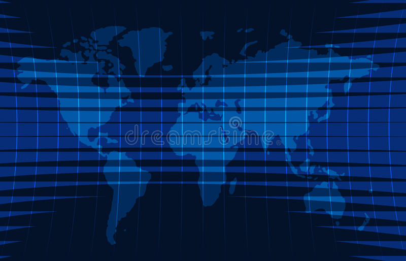 News background, breaking news,vector infographic with news theme map of the world. stock illustration