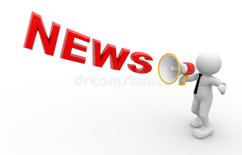Download News concept stock illustration. Illustration of announce - 24990544