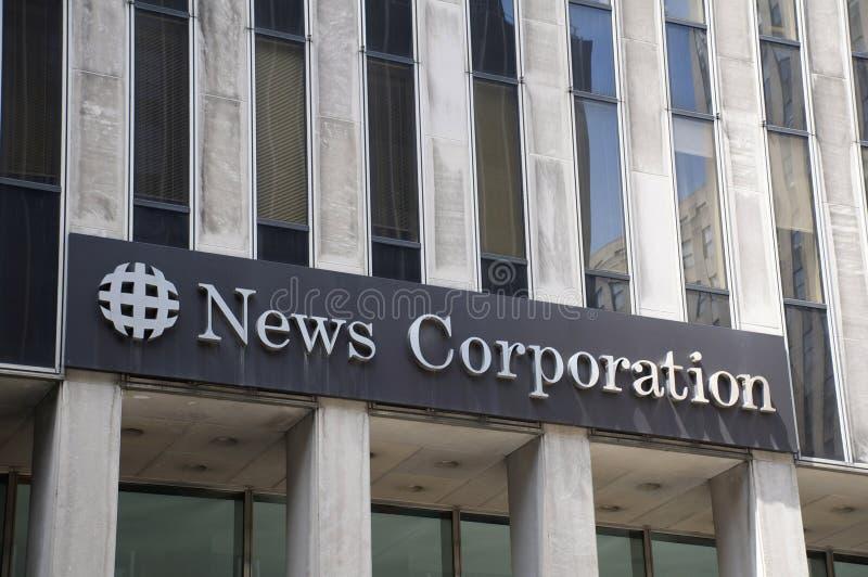 News Corp. kwatery główne fotografia stock