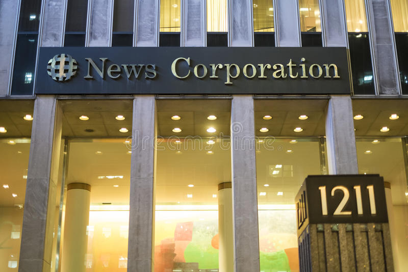 Download News Corporation editorial photo. Image of north, corporation - 39841401