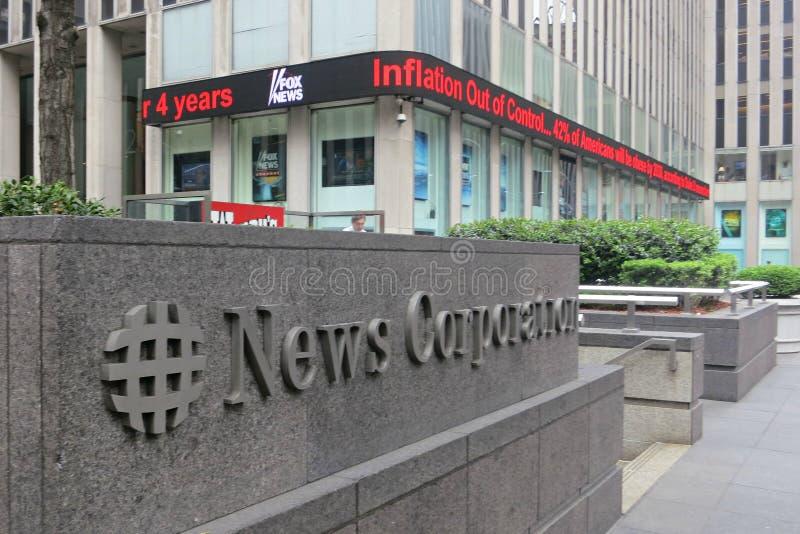 News Corporation stock photography