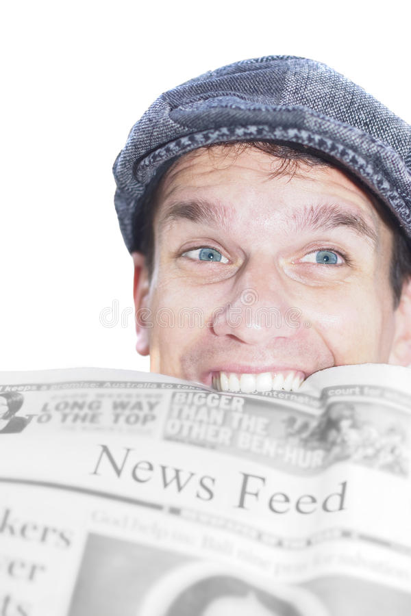 Download News Feed stock photo. Image of facial, announcement - 17958530