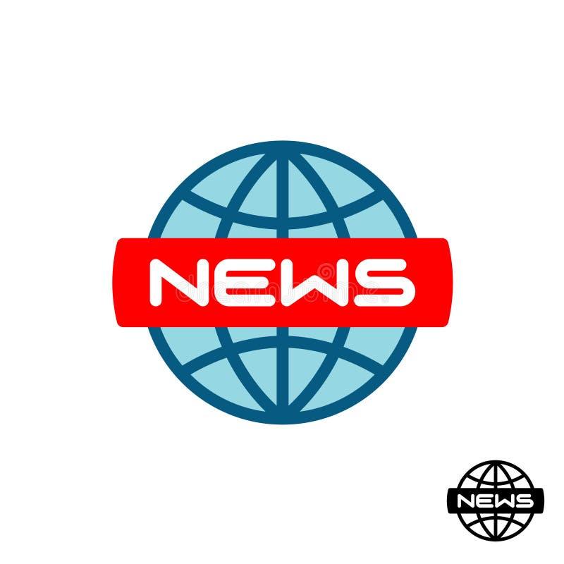 News global logo. stock illustration