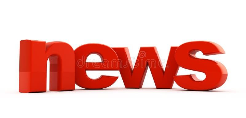 Download News headline. stock illustration. Image of white, dimensional - 14119799
