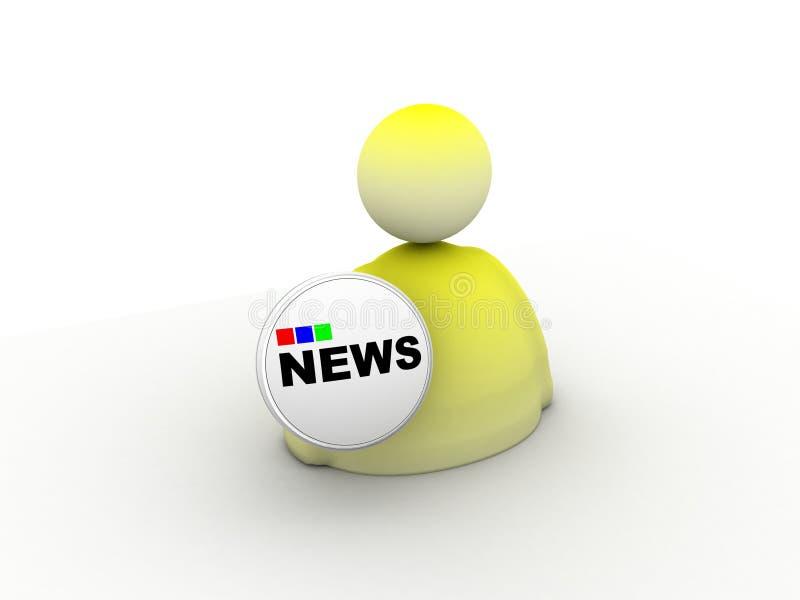 Download News icon stock illustration. Image of symbol, sign, icon - 12269122