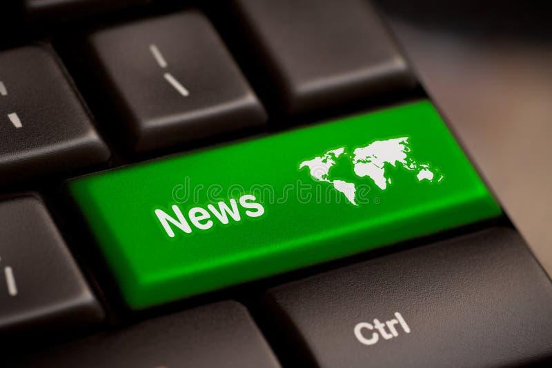 News key royalty free stock photography