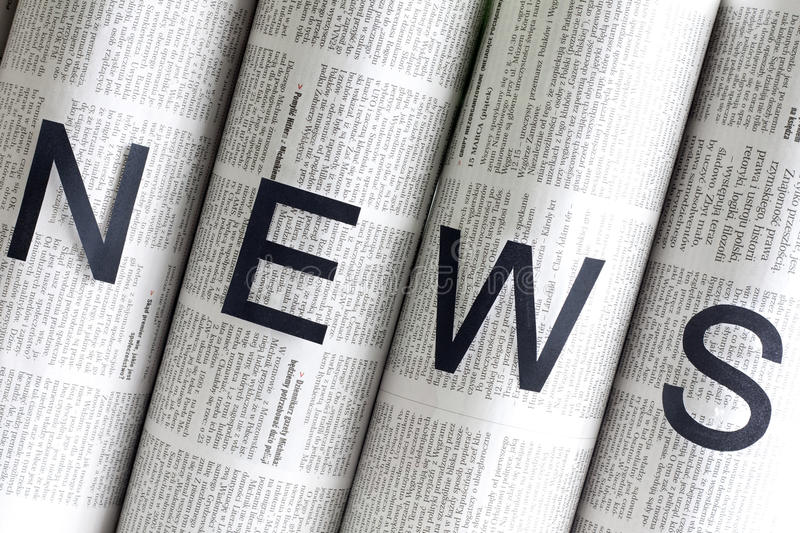 Download News letters on newspapers stock image. Image of news - 31474313