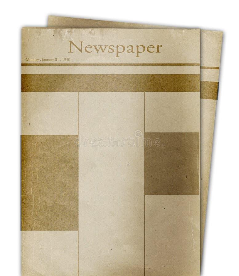 News paper royalty free illustration