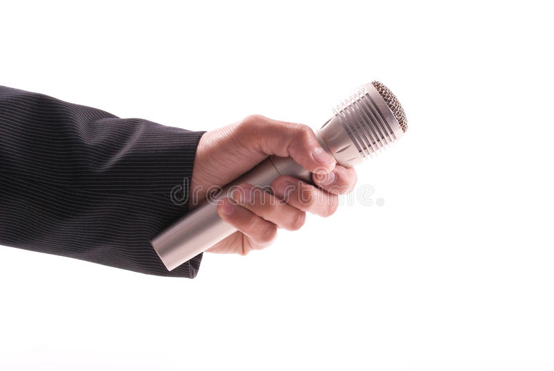 Download News Reporter stock image. Image of perform, interest - 18676753
