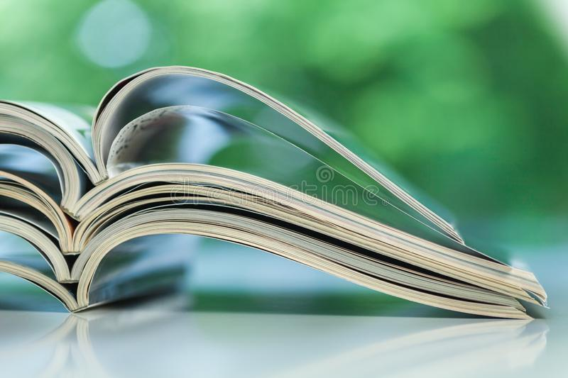 News stack royalty free stock photo