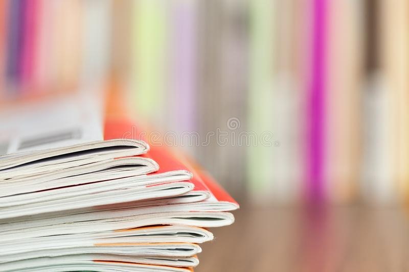News stack stock images
