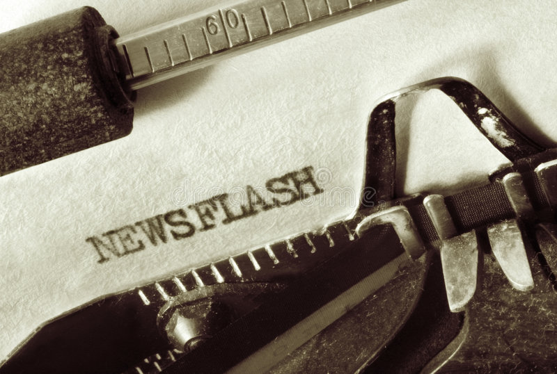 newsflash στοκ εικόνες