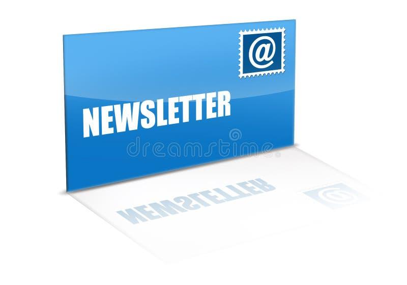 Newsletter stock abbildung